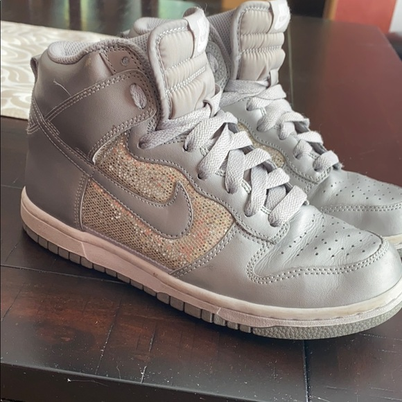 Nike Shoes   Sparkly High Top   Poshmark